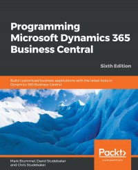 Programming Microsoft Dynamics 365 Business Central Sixth Edition Image