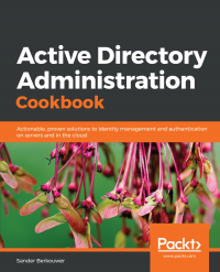 Active Directory Administration Cookbook Image