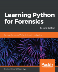 Learning Python for Forensics Second Edition Image