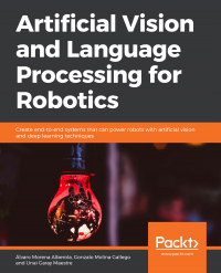 Artificial Vision and Language Processing for Robotics Image