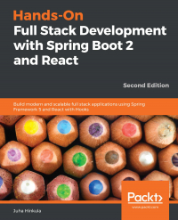 Hands-On Full Stack Development with Spring Boot 2 and React Second Edition Image