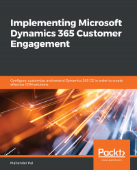 Implementing Microsoft Dynamics 365 Customer Engagement Image