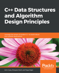 C++ Data Structures and Algorithm Design Principles Image