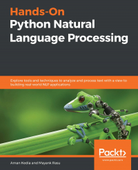 Hands-On Python Natural Language Processing Image