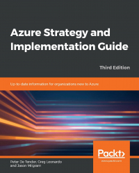 Azure Strategy and Implementation Guide Third Edition Image