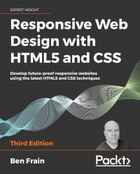 Responsive Web Design with HTML5 and CSS Third Edition Image
