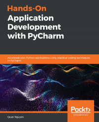 Hands-On Application Development with PyCharm Image