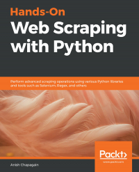 Hands-On Web Scraping with Python Image
