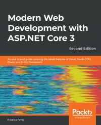 Modern Web Development with ASP.NET Core 3 Second Edition Image