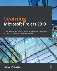 Learning Microsoft Project 2019 Image