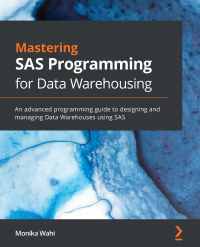 Mastering SAS Programming for Data Warehousing Image