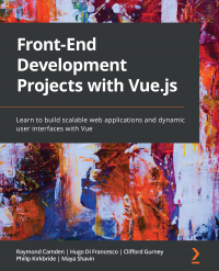 Front-End Development Projects with Vue.js Image