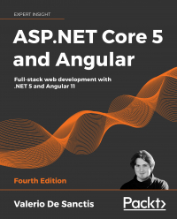 ASP.NET Core 5 and Angular Fourth Edition Image