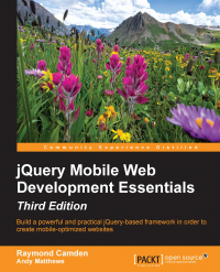 jQuery Mobile Web Development Essentials - Third Edition Image