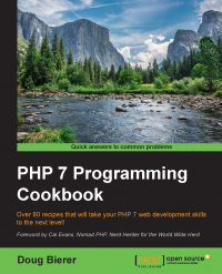 PHP 7 Programming Cookbook Image