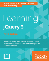 Learning jQuery 3 Fifth Edition Image