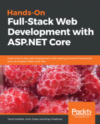 Hands-On Full-Stack Web Development with ASP.NET Core Image