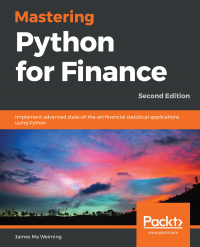 Mastering Python for Finance - Second Edition Image