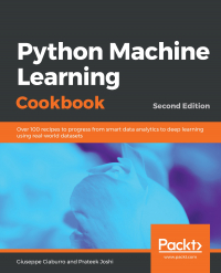 Python Machine Learning Cookbook - Second Edition Image