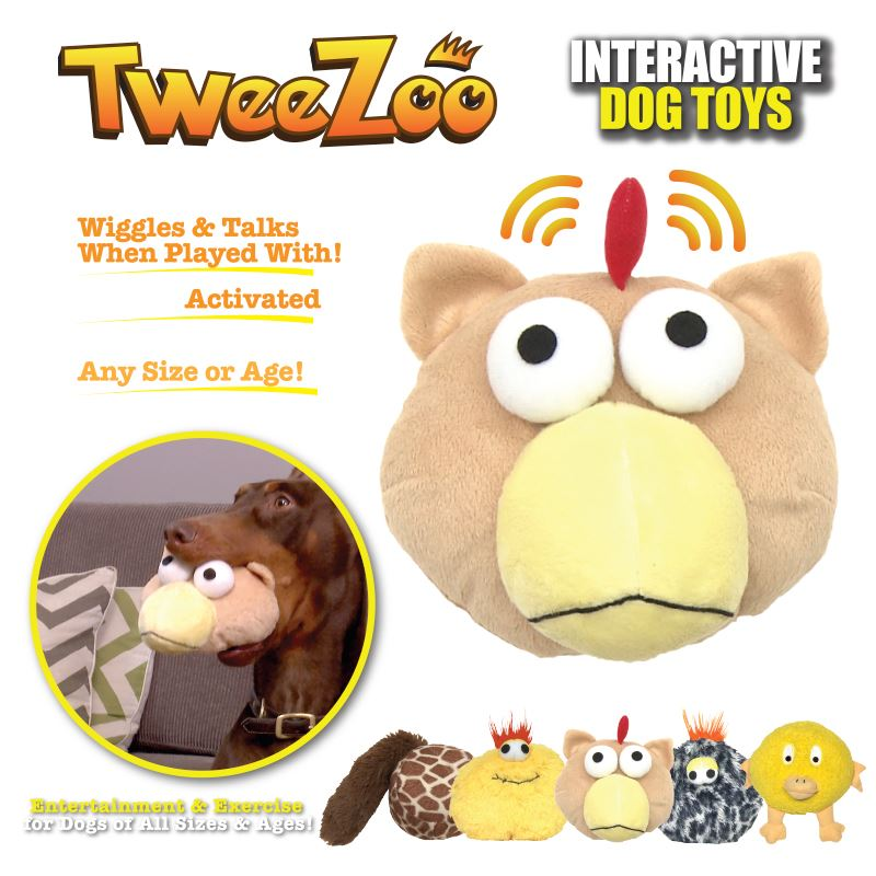 tweezoo dog toy