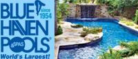 Website for Blue Haven Pools