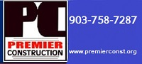 Website for Premier Construction