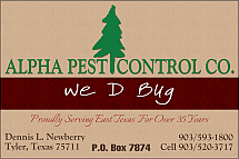 Website for Alpha Pest Control