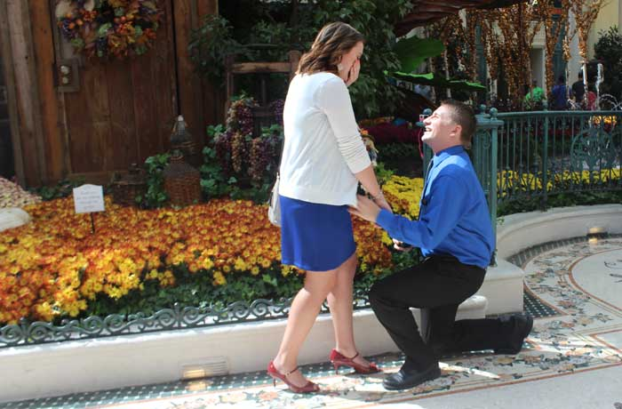 Lauren Bratland wedding proposal