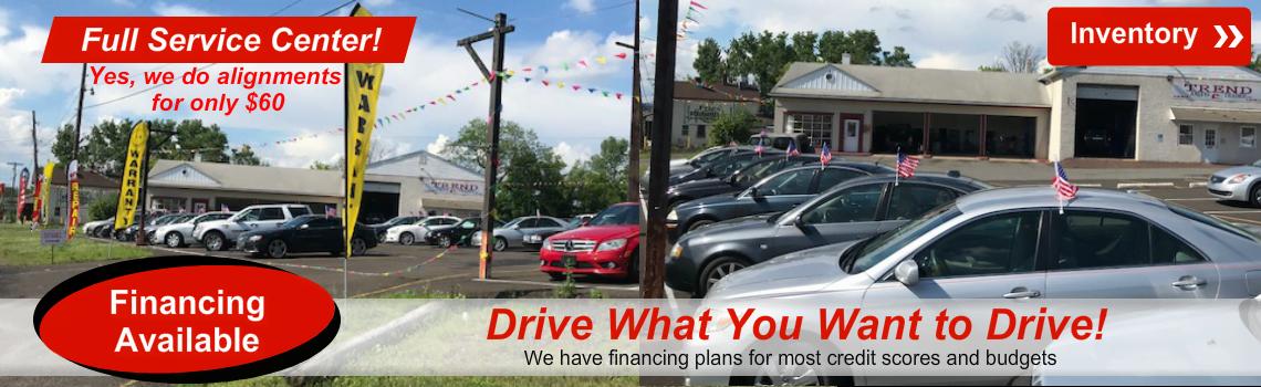 Trend Auto Trader Auto Sales Repair Shop In Quakertown Pa