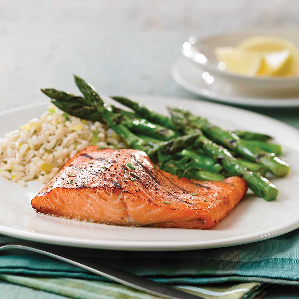 Easy salmon and asparagus recipes