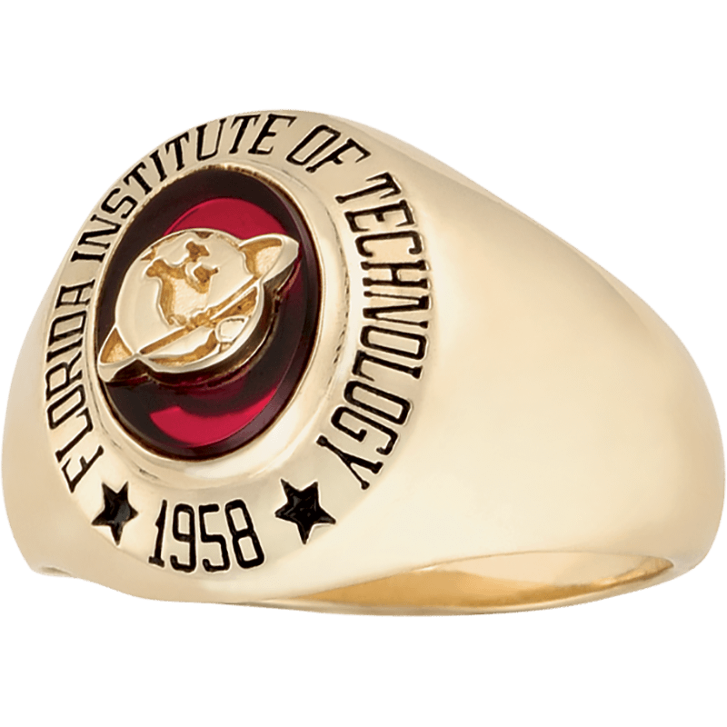 Florida Institute Of Technology Women S Small Signet Ring