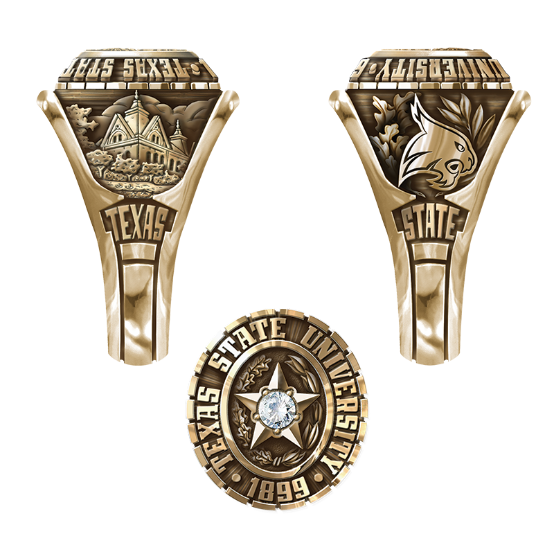 texas state university san marcos women s traditional ring