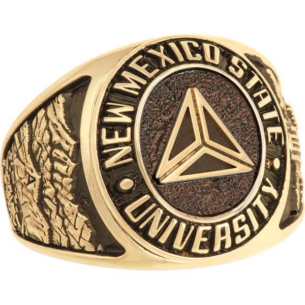 New Mexico State University Las Cruce Men S Large Traditional Ring