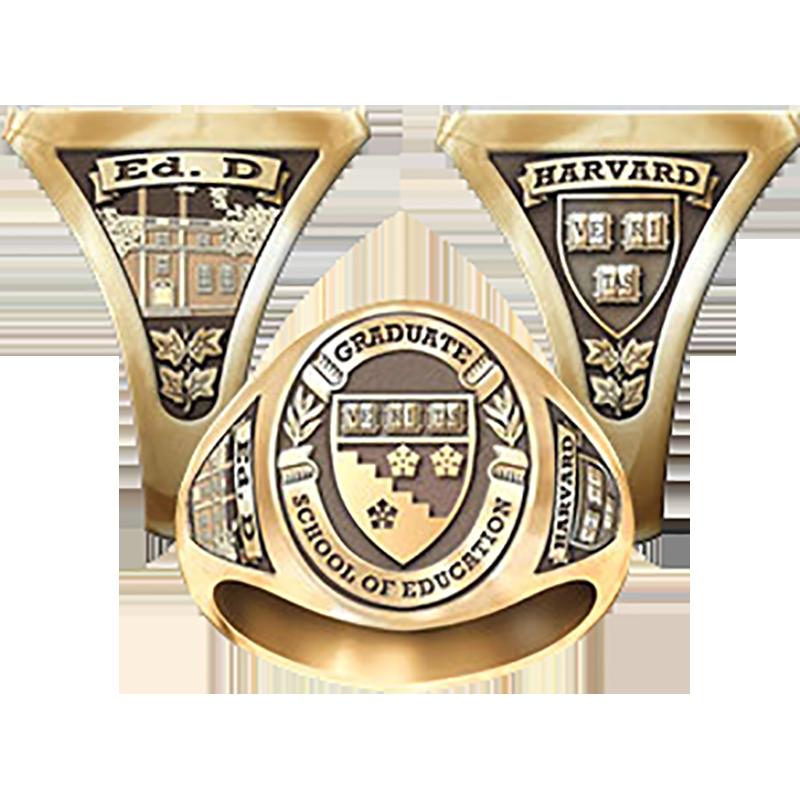 Harvard Graduate School of Education Women's Signet Ring