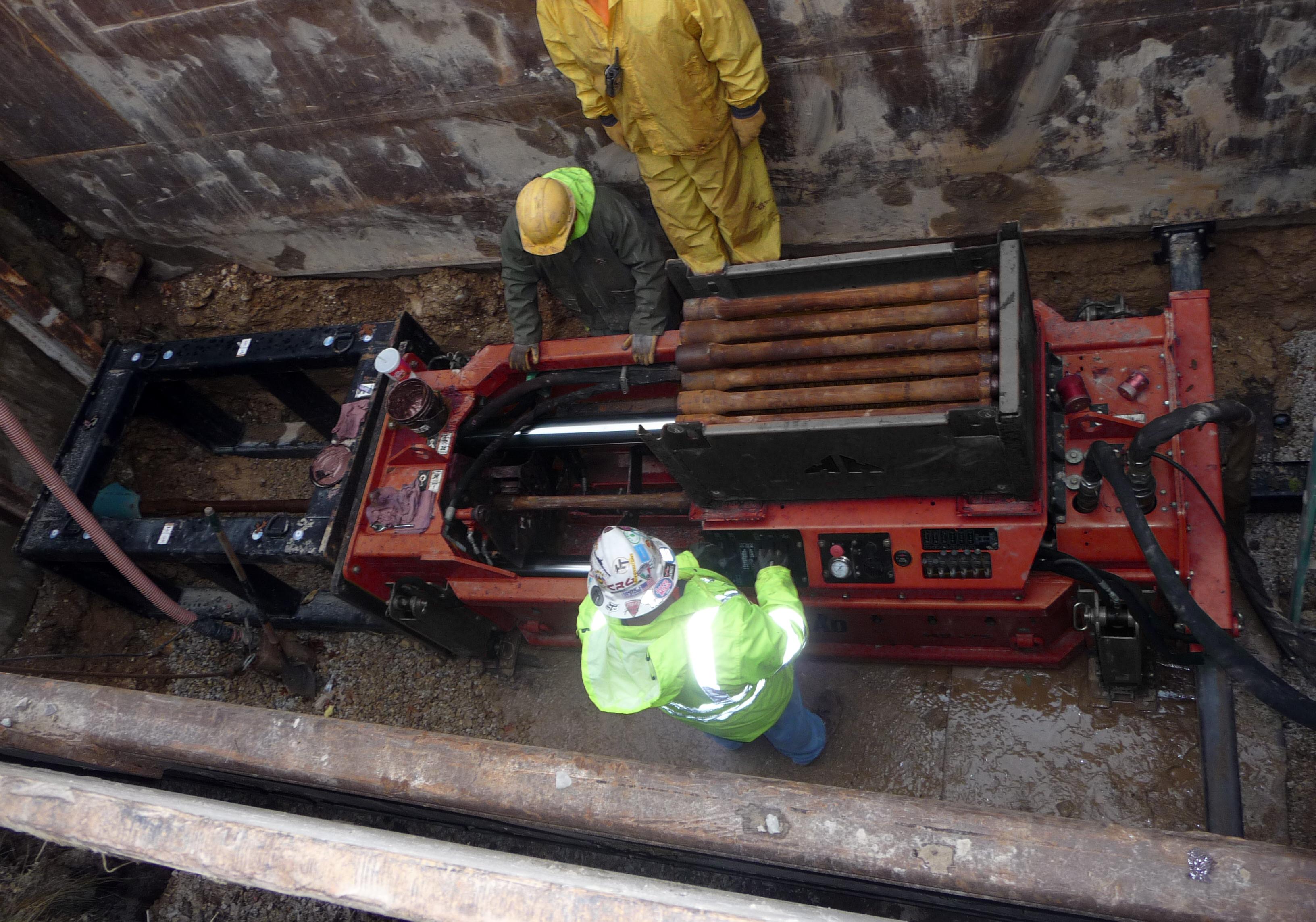 Pipe bursting solves environmental issues underground