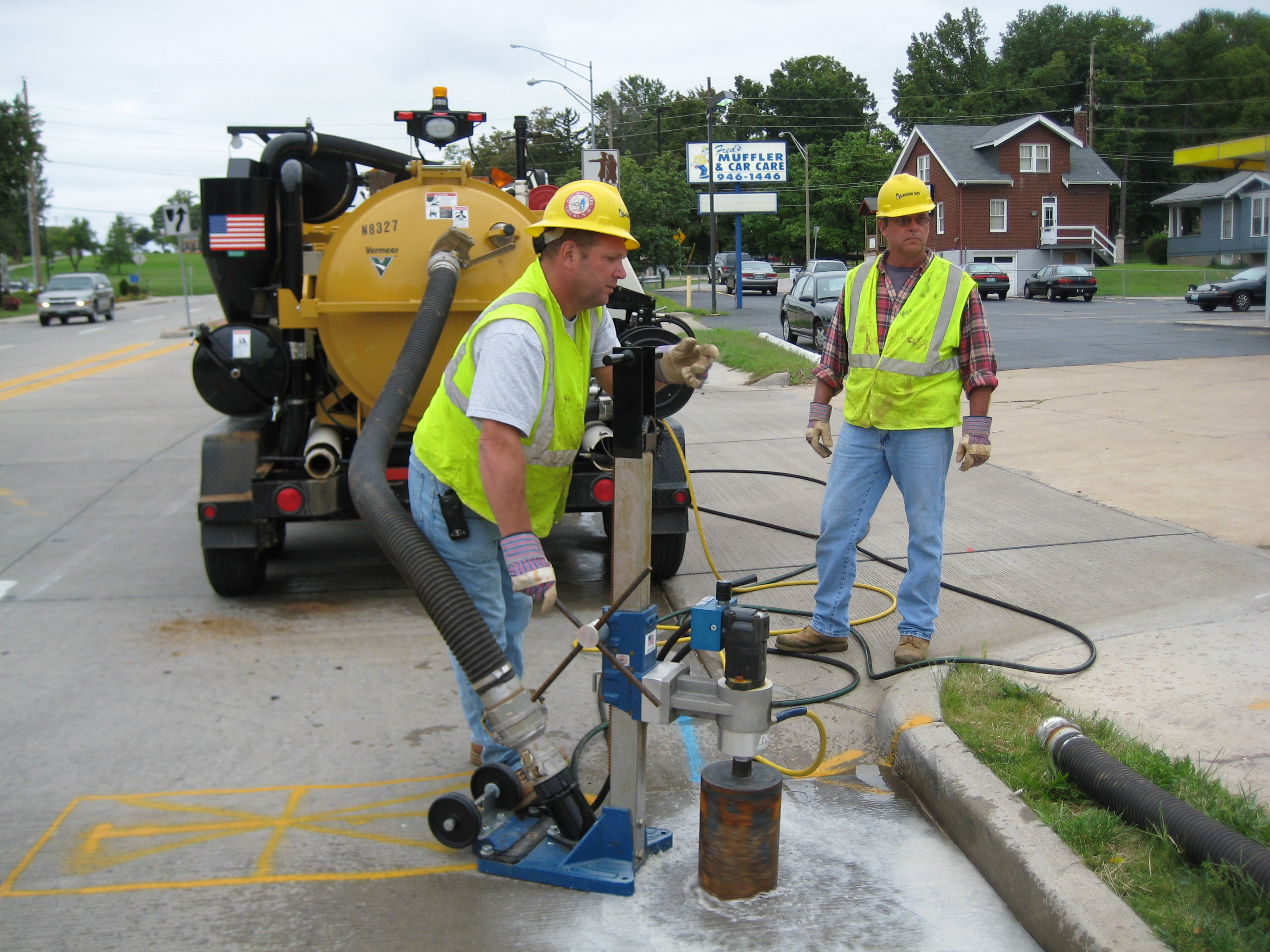 laclede gas number Maintaining Gas Lines In The Gateway City - Underground Construction
