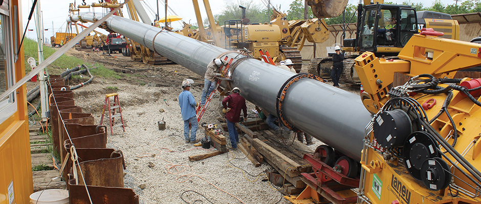 Laney Completes Record-setting Direct Pipe Installation