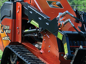 Ditch Witch SK850 skid-steer loader