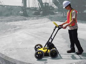 Sensors & Software developed LMX100 to make locating and marking utilities with GPR simple and easy