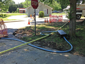 Faced with aging infrastructure, similar to the city of Monroe, Consolidated Mutual Water began a rehab and replacement bursting plan