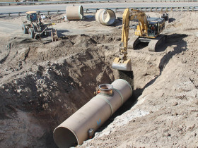 Washington State irrigation district update using Hobas Pipe