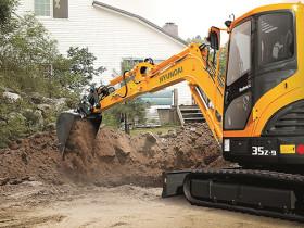 Huyndai R35Z-9-Mini-Excavator