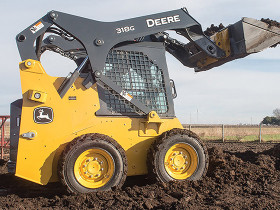 John Deere Tier 4 G-Series Skid Steers