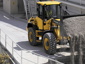 Volvo H series compact wheel loaders