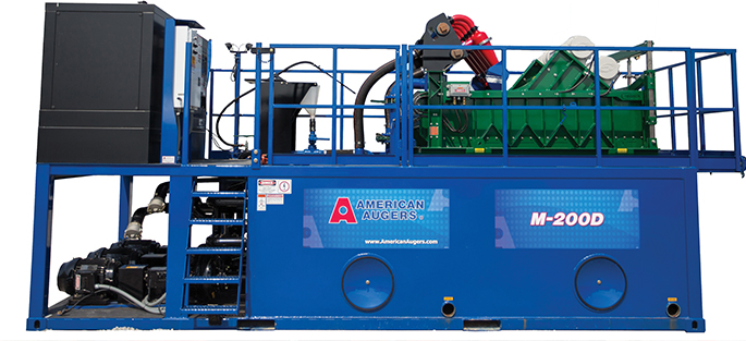 American Augers M200D