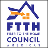 FTTH fiber to the home logo