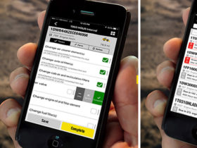 John Deere MyMaintenance mobile app