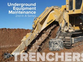 Track Trencher Maintenance