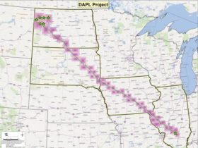 Dakota access pipeline map-full