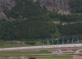 Gotthard base tunnel opens